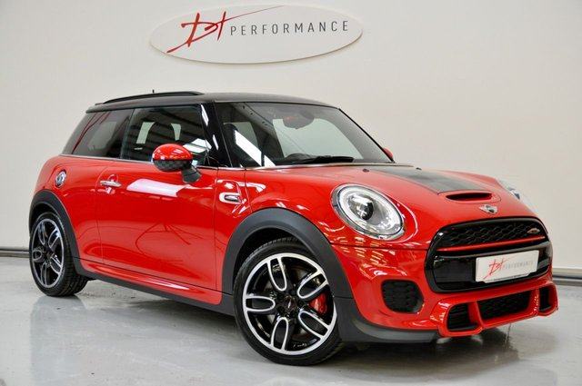2016 16 MINI HATCH JOHN COOPER WORKS 2.0 JOHN COOPER WORKS 3d 228 BHP MEDIA XL/HUD/HARMON KARDON