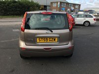 USED 2009 59 NISSAN NOTE 1.6 ACENTA 5d 110 BHP