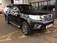 USED 2018 67 NISSAN NAVARA 2.3 DCI Tekna Automatic Double Cab Hardtop Canopy Sat Nav Leather AROUND VIEW CAMERA SYSTEM SAT NAV LEATHER CANOPY