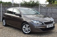 USED 2014 14 PEUGEOT 308 1.6 HDI ACTIVE 5d 92 BHP Free 12  month warranty