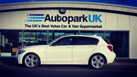 USED 2014 14 BMW 1 SERIES 2.0 116D M SPORT 5d 114 BHP LOW DEPOSIT OR NO DEPOSIT FINANCE AVAILABLE