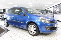 USED 2007 07 RENAULT CLIO 1.4 DYNAMIQUE S 16V 98 BHP LONG MOT PX BARGAIN! BE QUICK!
