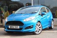 2015 FORD FIESTA 1.0 ZETEC S 3d 124 BHP £8849.00