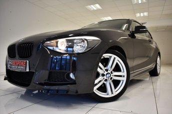 2014 BMW 1 SERIES 120D M SPORT 3 DOOR £11495.00