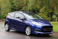 2014 FORD FIESTA 1.0 ZETEC S 3d 124 BHP £7575.00