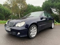 USED 2005 05 MERCEDES-BENZ C CLASS 2.1 C200 CDI ELEGANCE SE 4d AUTO 121 BHP LEATHER AUTOMATIC FSH