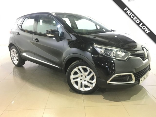 View our 2014 14 RENAULT CAPTUR 1.5 DYNAMIQUE MEDIANAV ENERGY DCI S/S 5d 90 BHP