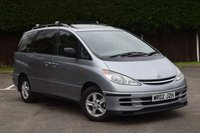 USED 2002 02 TOYOTA PREVIA 2.0 CDX D-4D 7STR 5d 114 BHP 1 OWNER + LOW MILEAGE ONLY 60K