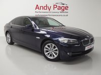 USED 2011 61 BMW 5 SERIES 2.0 520D SE 4d AUTO 181 BHP