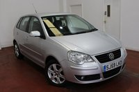 USED 2009 59 VOLKSWAGEN POLO 1.2 MATCH 5d 59 BHP
