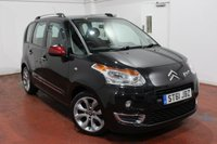 USED 2012 61 CITROEN C3 PICASSO 1.6 PICASSO BLACKCHERRY HDI 5d 90 BHP