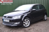 USED 2010 59 VOLKSWAGEN POLO 1.2 MODA A/C 3d 60 BHP High Quality hand picked cars by Stratton Car Company Uckfield Sussex - 01825 713 793