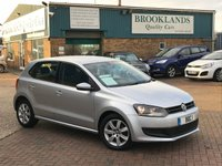 2009 VOLKSWAGEN POLO 1.2 SE Reflex Silver Metallic Grey Cloth 5 Door 70 BHP £4795.00