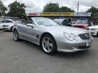 USED 2004 MERCEDES-BENZ SL 5.0 SL500 2 DOOR AUTO 302 BHP IN SILVER WITH ONLY 69000 MILES WITH A FULL SERVICE HISTORY. APPROVED CARS ARE PLEASED TO OFFER THIS MERCEDES-BENZ SL 5.0 SL500 2 DOOR AUTO 302 BHP IN SILVER WITH ONLY 69000 MILES IN IMMACULATE CONDITION IN SILVER WITH A FULL BLACK LEATHER INTERIOR,PANORAMIC ROOF,SAT NAV,UPGRADED ALLOYS AND MUCH MORE WITH A FULLY DOCUMENTED SERVICE HISTORY WITH EVERY BILL THAT THE CAR HAS HAD SPENT ON IT OVER THE YEARS.