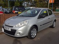 2010 RENAULT CLIO 1.1 EXTREME 3dr, Ideal Starter Car £3225.00