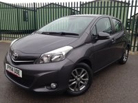 2014 TOYOTA YARIS 1.3 VVT-I ICON PLUS 5d 99 BHP LOW MILEAGE ALLOYS CLIMATE CRUISE BLUETOOTH FSH MOT 06/19 £6290.00