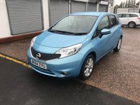 2014 NISSAN NOTE 1.2 ACENTA DIG-S 5d AUTO 98 BHP