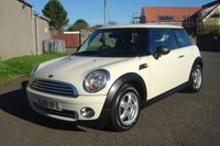 2009 MINI HATCH ONE 1.4 ONE 3d 94 BHP £3950.00