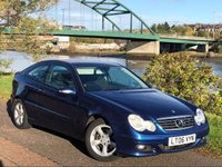 2006 MERCEDES-BENZ C CLASS 1.8 C180 KOMPRESSOR SE SPORTS 3d 141 BHP £1450.00