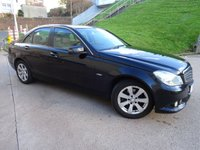 USED 2011 Y MERCEDES-BENZ C CLASS 2.1 C220 CDI BLUEEFFICIENCY SE EDITION 125 4d 170 BHP NAVIGATION SYSTEM * BLUETOOTH * FULL SERVICE RECORD * PARKING AID *  FULL YEAR MOT *