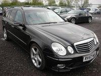 USED 2007 57 MERCEDES-BENZ E CLASS 3.0 E280 CDI SPORT 5d AUTO 187 BHP Sat nav - Xenons - Leather - Parking sensors
