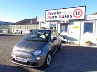 USED 2014 64 FIAT 500 1.2 LOUNGE DUALOGIC 3 DOOR AUTO 69 BHP £38 PER WEEK, NO DEPOSIT - SEE FINANCE LINK