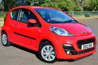 2012 PEUGEOT 107 1.0 ACTIVE 3d ONLY 14,000 MILES! £3740.00