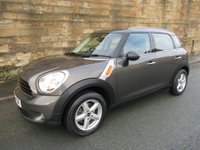 2012 MINI COUNTRYMAN 1.6 ONE 5d AUTO 98 BHP £9990.00