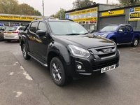 2018 ISUZU D-MAX BLADE 1.9 TDI AUTOMATIC 157 BHP 4 DOOR PICK UP DEMONSTRATOR IN COSMIC BLACK MICA £32999.00