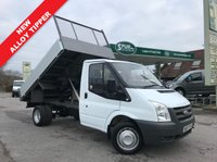USED 2007 07 FORD TRANSIT TIPPER 2.4 350 MWB 1d 100 BHP Direct BT, NEW Alloy Tipper, Service History, Well Above Average Example, Finance Arranged.
