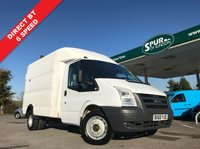 USED 2010 60 FORD TRANSIT 2.4 350 LIMITED SHR DCB 1d 99 BHP Direct BT, Mobile Workshop, Box Van, Well Above Average Example, Finance Arranged.