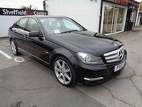2012 MERCEDES-BENZ C CLASS 2.1 C220 CDI BLUEEFFICIENCY SPORT 4d AUTO 168 BHP £9975.00
