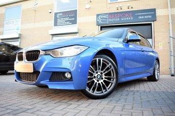 2013 BMW 3 SERIES 330D XDRIVE M SPORT AUTOMATIC £15495.00