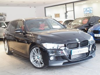 2015 BMW 3 SERIES  335D XDRIVE M SPORT TOURING 5d AUTO 308 BHP £21990.00