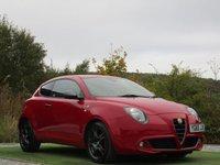 USED 2015 65 ALFA ROMEO MITO 0.9 TWINAIR QV LINE 3d 105 BHP