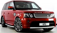 USED 2012 62 LAND ROVER RANGE ROVER SPORT 3.0 SD V6 Autobiography Sport 4X4 5dr Auto [8] Full Land Rover Service Record