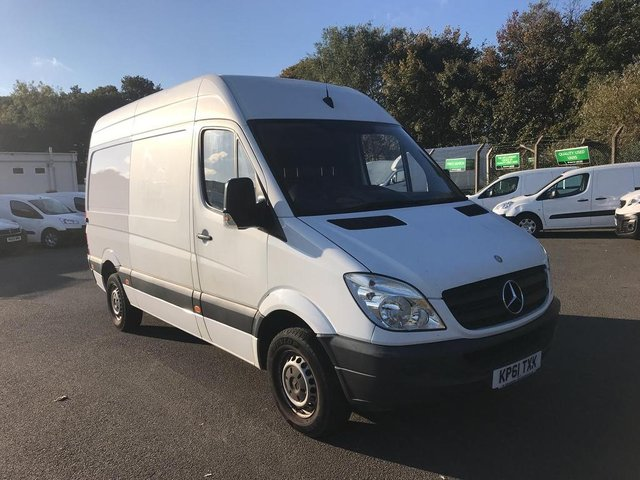 View our 2011 61 MERCEDES-BENZ SPRINTER 313 CDI MWB HIGH ROOF VAN EURO 4/5 *VALUE RANGE VEHICLE - CONDITION REFLECTED IN PRICE* 2.2