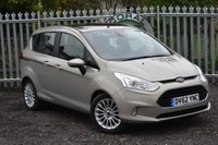 USED 2012 62 FORD B-MAX 1.0 TITANIUM 5d 118 BHP WE OFFER FINANCE ON THIS CAR