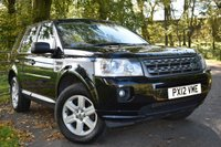 2012 LAND ROVER FREELANDER 2.2 TD4 GS 5d 150 BHP £11750.00