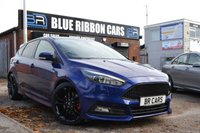 USED 2016 16 FORD FOCUS 2.0 ST-3 5d 247 BHP SAT NAV, RECARO LEATHER, BLACK PACK