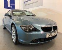 2006 BMW 6 SERIES 3.0 630I SPORT 2d AUTO 255 BHP £6875.00