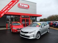 USED 2017 17 KIA OPTIMA 1.7 CRDI 2 ISG 5d 139 BHP Sat Nav,Rear Camera,Huge MPG