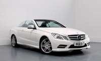 2011 MERCEDES-BENZ E CLASS 2.1 E220 CDI BLUEEFFICIENCY SPORT ED125 2d AUTO 170 BHP £12483.00