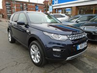 USED 2015 65 LAND ROVER DISCOVERY SPORT 2.0 TD4 HSE 5d AUTO 180 BHP