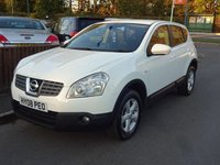 2008 NISSAN QASHQAI 2.0 ACENTA DCI 5dr, 2 Owners