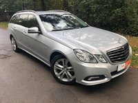 USED 2010 MERCEDES-BENZ E CLASS 3.0 E350 CDI BLUEEFFICIENCY AVANTGARDE 5d AUTO 231 BHP LIGHT GREY LEATHER - HEATED FRONT SEATS - PARKING SENSORS - PRIVACY GLASS - LED DAYTIME RUNNING LIGHTS & MORE!