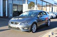2015 SEAT LEON 2.0 TDI 150 BHP CR CR FR (Tech Pack) DSG AUTO (s/s) 5dr £11985.00