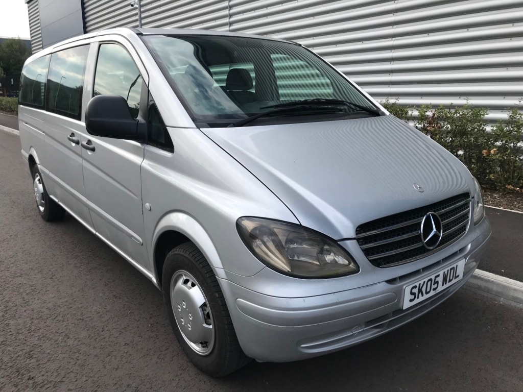 View our 2005 05 MERCEDES-BENZ VITO  2.1 cdi 111 EXTRA LWB (AIR CON) 9 SEATER