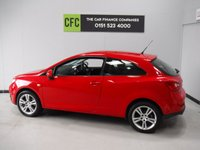 USED 2010 10 SEAT IBIZA 1.6 SPORT CR TDI 3d 103 BHP GLEAMING RED WITH BRIGHT SILVER ALLOY WHEELS, WITH FULL SERVICE HISTORY AND A LADY OWNER THIS CAR HAS HAD NO EXPENSE SPARED,ELEC WINDOWS,REMOTE CENTRAL LOCKING,ICE COLD AIR CON, DAB RADIO