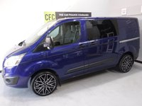 2015 FORD TRANSIT CUSTOM 2.2 290 LIMITED LR DCB 1d 124 BHP £14500.00